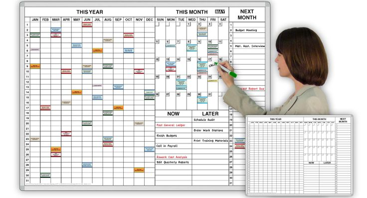Dry Erase Board Staples Inc Personal Year ™ Time Task Planner Magnetic Dry Erase