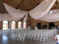 ways to swag pipe and drape backdrop | 12 Panel Ceiling ...