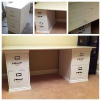 small desk with filing cabinet | Roselawnlutheran