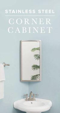 25+ best ideas about Corner medicine cabinet on Pinterest ...