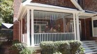 Vinyl panels to winterize screened porch | Porch ...