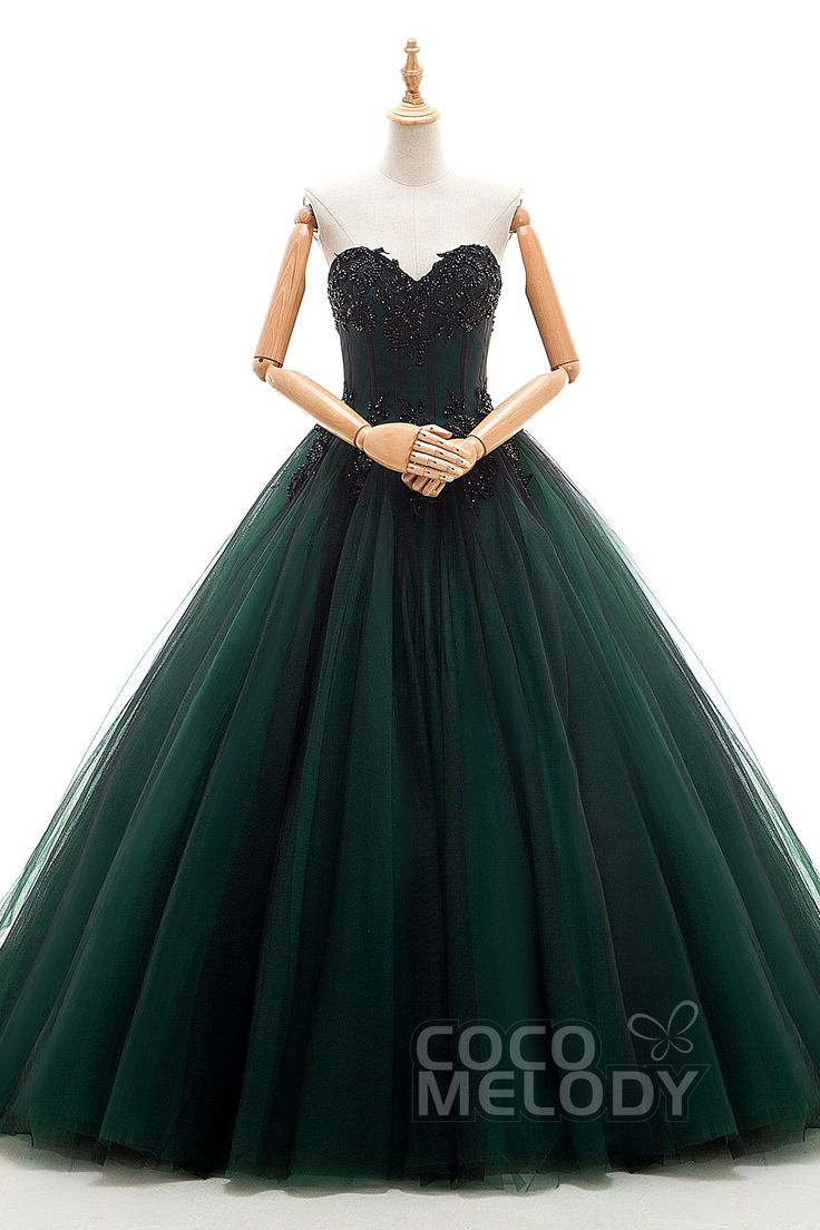 emerald green wedding dress emerald wedding dress Unique A Line Sweetheart Natural Chapel Train Tulle Jolly Green Sleeveless Lace Up Corset Wedding Dress Appliques Beading JWLT