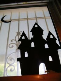 25+ Best Ideas about Halloween Window Silhouettes on ...