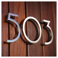 Neutra House numbers | BLOSSOM YF: house numbers ...