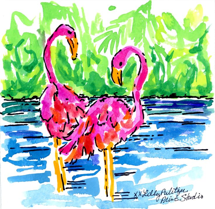 Lilly Pulitzer Quotes Wallpaper Flamingo Flirt Lilly5x5 Lovin Lilly Pinterest