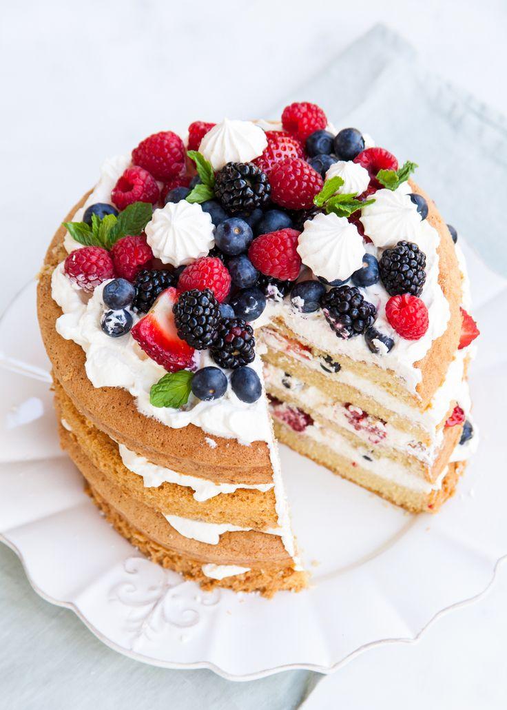 25 Best Ideas About Strawberry Sponge Cake On Pinterest