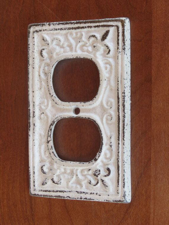 Decorative Outlet Covers Antique White Decorative Electrical Outlet Plate/plug-in
