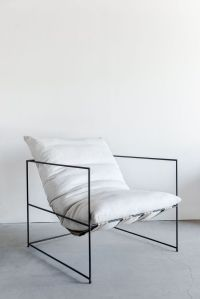 Modern Minimalist Sofa Chair Model
