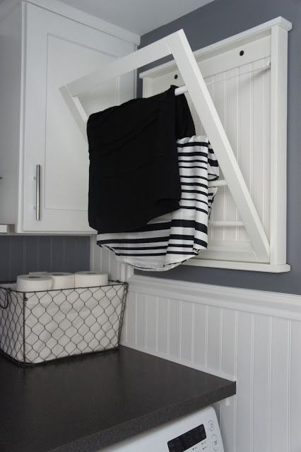 Pull Down Clothes Drying Rack Woodworking Projects Plans