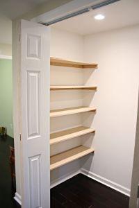 built in closet shelves  Roselawnlutheran