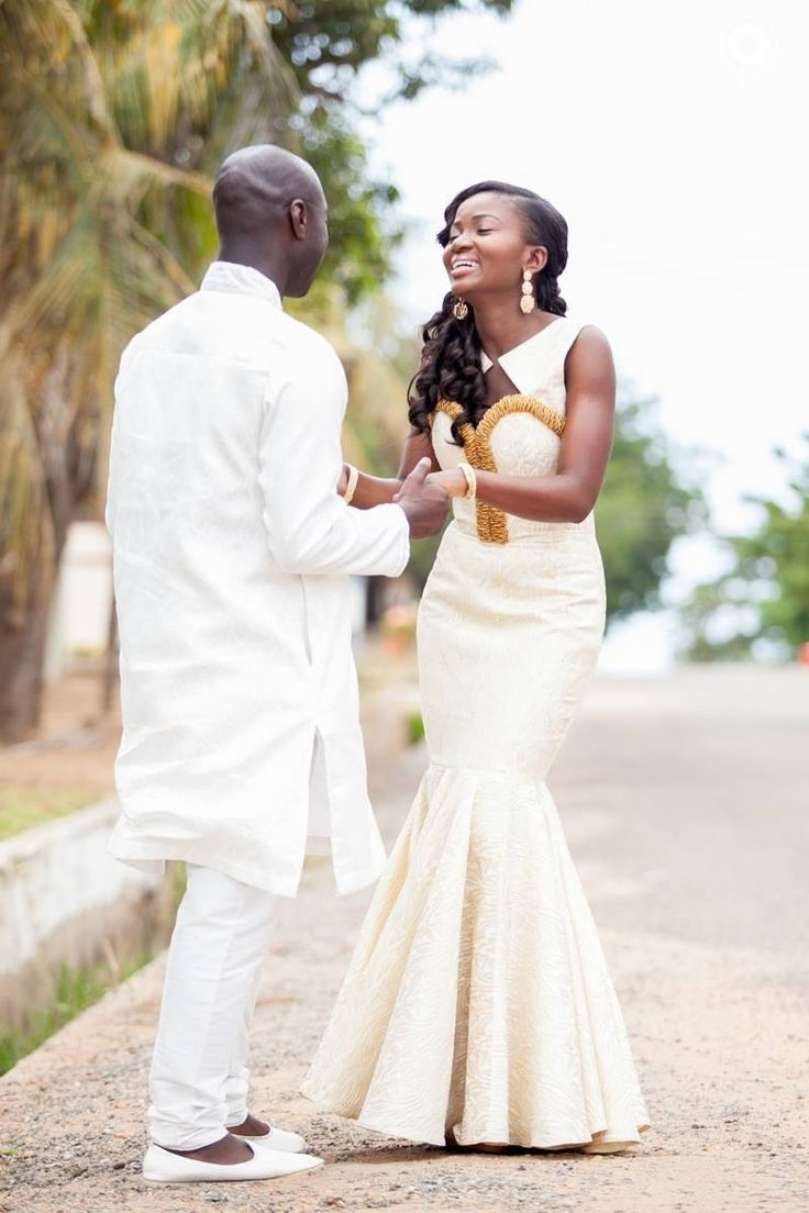 traditional engagement wedding african print wedding dresses Traditional wedding dress Dabua Serwa