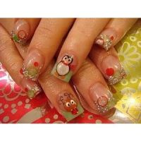 Top 25 ideas about Christmas Acrylic Nails on Pinterest ...