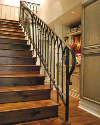 Bungalow Stair Steel Railing Designs