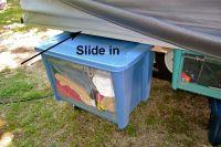 Under Bed Hanging Storage Bins | Tent Trailer Pop Up ...