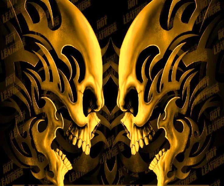 Hidden 3d Illusion Wallpapers Fond D 233 Cran Hd Skull Head Truc Trop Beau Pinterest