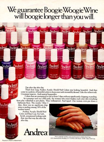 17 Best Images About Vintage Nail Polish Ads On Pinterest