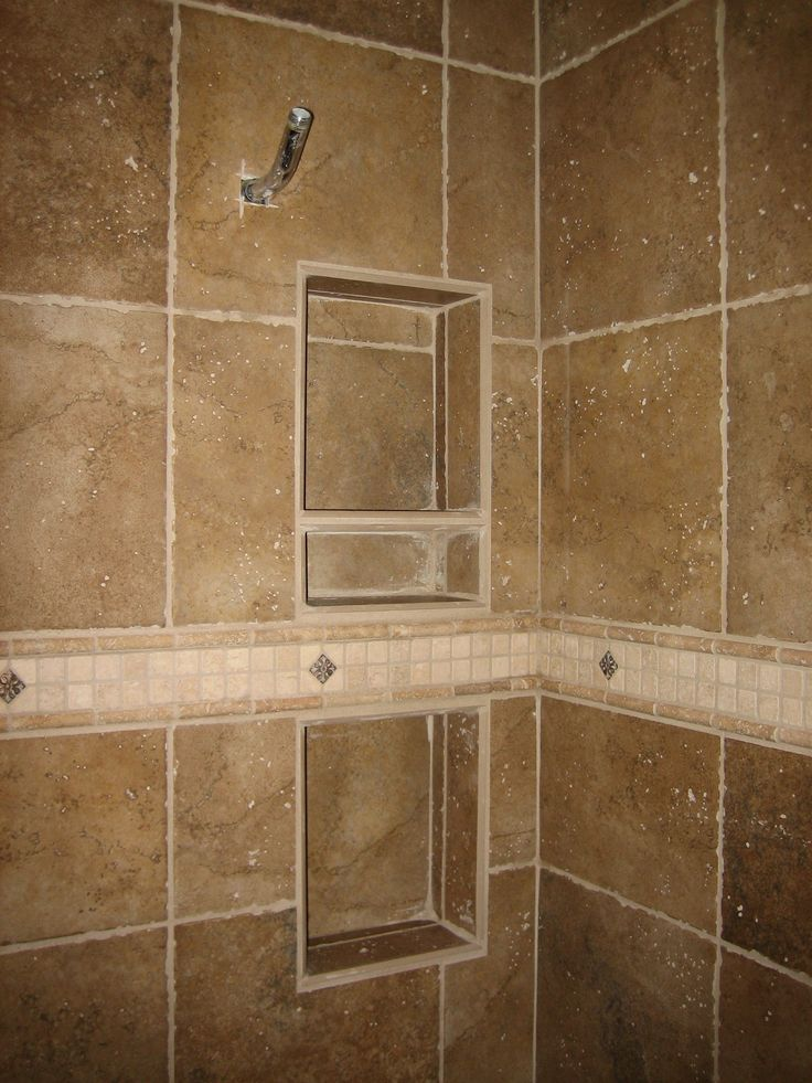 Shower Recessed