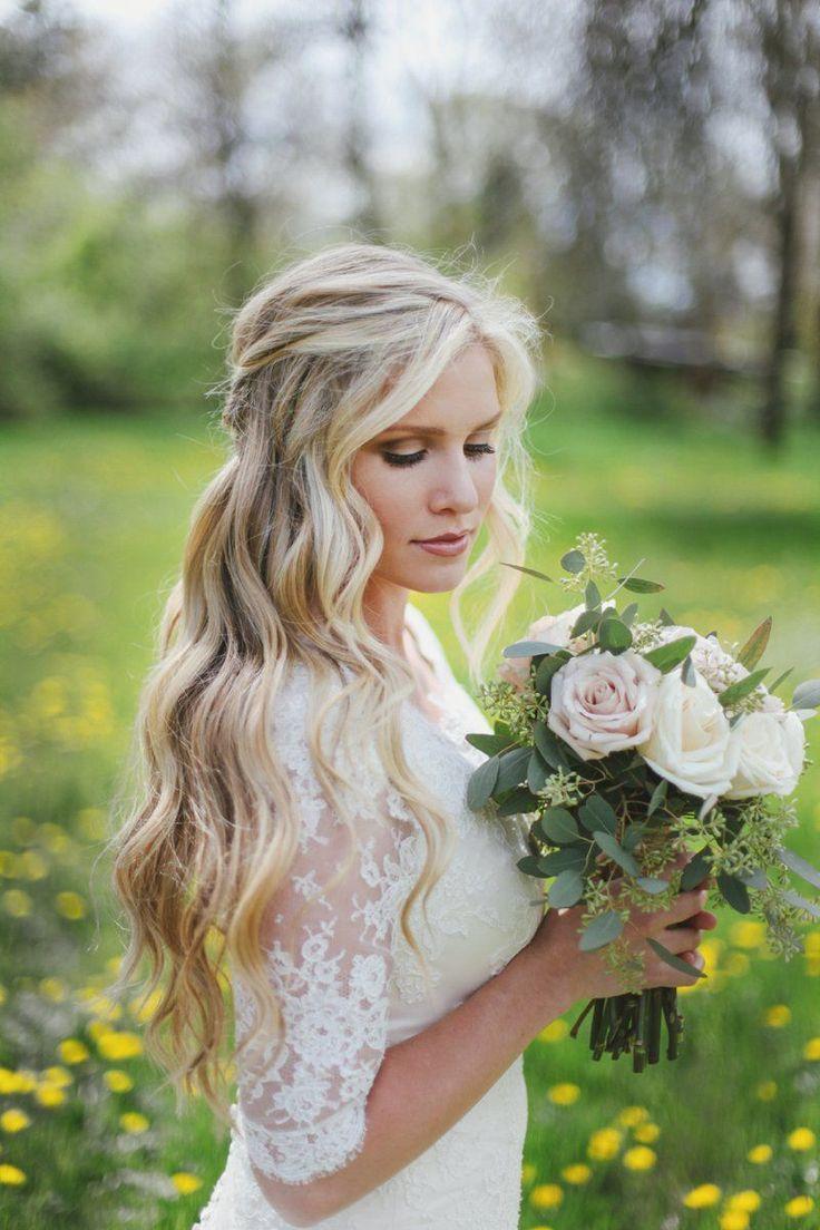Best 20+ Bridal Hair Down ideas on Pinterest
