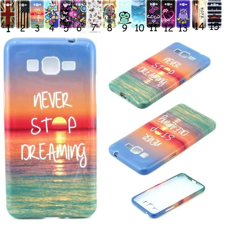 Cute Wallpapers For Samsung Grand Prime Details About New Silicone Soft Back Rubber Gel Case Cover