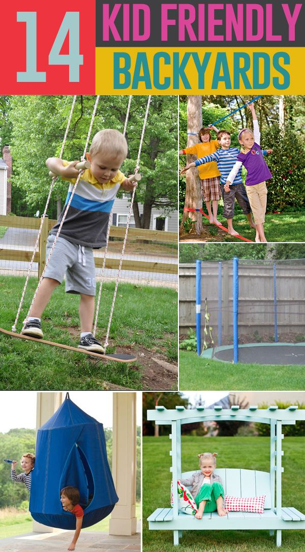 1000+ Backyard Ideas Kids on Pinterest