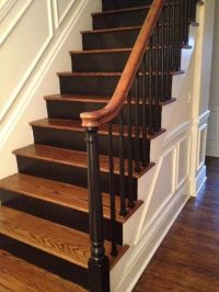 25+ best ideas about Black Staircase on Pinterest ...