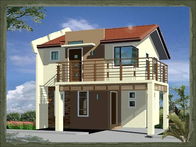 Rumah Minimalis 100 Meter A Two-storey, 2-bedroom Home Fitting In A 75-square Meter