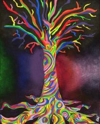 8 best images about Trippy art on Pinterest | Trees, Sun ...