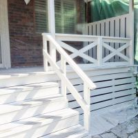 Best 25+ Wood deck railing ideas on Pinterest