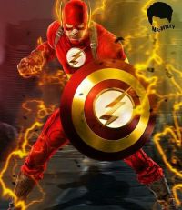 Captain Flash, a Mashup of Captain America and the Flash ...