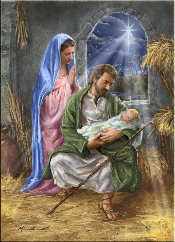 78 Best Images About Nativity Joseph Holds Jesus Too On