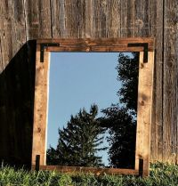 25+ best ideas about Rustic bathroom mirrors on Pinterest ...