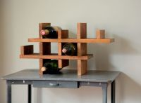 Racetrack Reclaimed Wine Rack by Spacebarn on Etsy I can ...