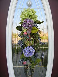 25+ best ideas about Door swag on Pinterest | Swags for ...