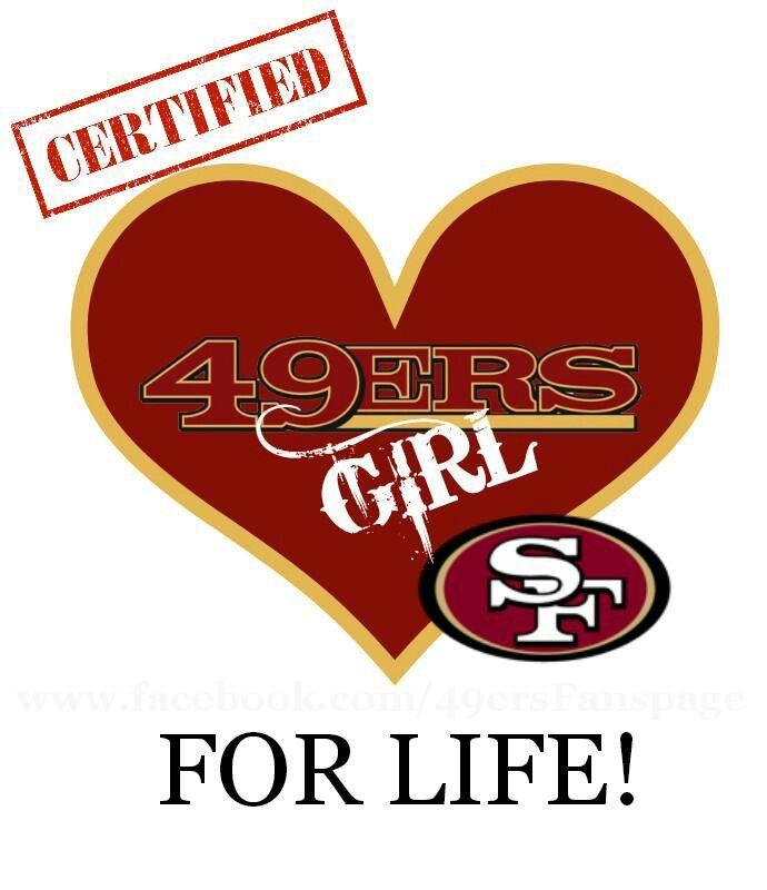 49er Wallpaper Girl Forever Faithful Red And Gold Sf 49ers Niner Faithful