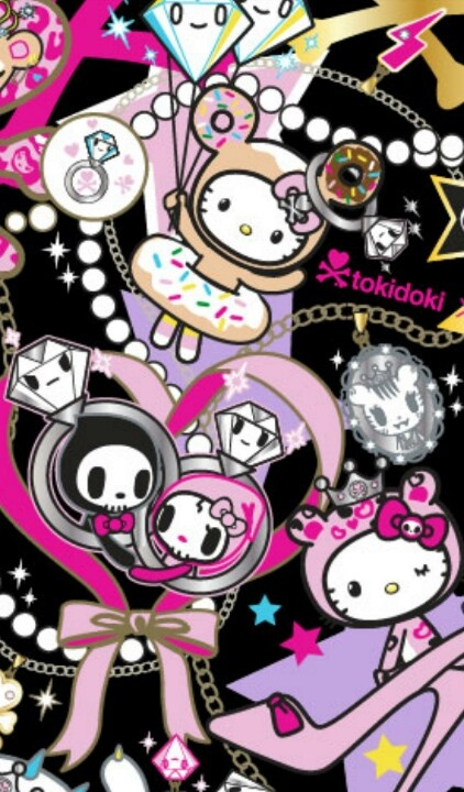 Cute My Melody Wallpaper Tokidoki For Hello Kitty Phone Wallpapers ♡ Pinterest