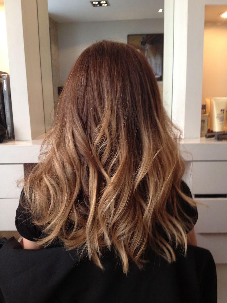 Cheveux Cuivre Avec Meches Blondes Recherche Google