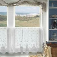 beach cottage window treatment | Bath ideas | Pinterest ...