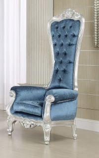 French Style Victorian Extreme High-Back ROYAL Throne ...