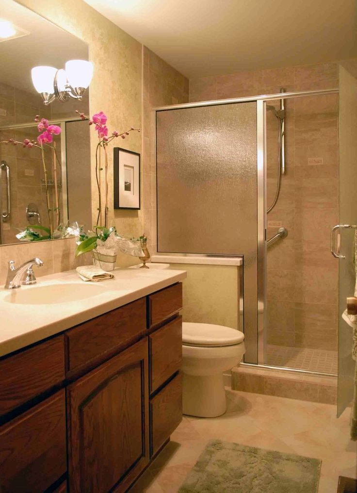 17 Best Images About Small Bathroom Ideas On Pinterest Wooden Bathroom Cabinets Walk In