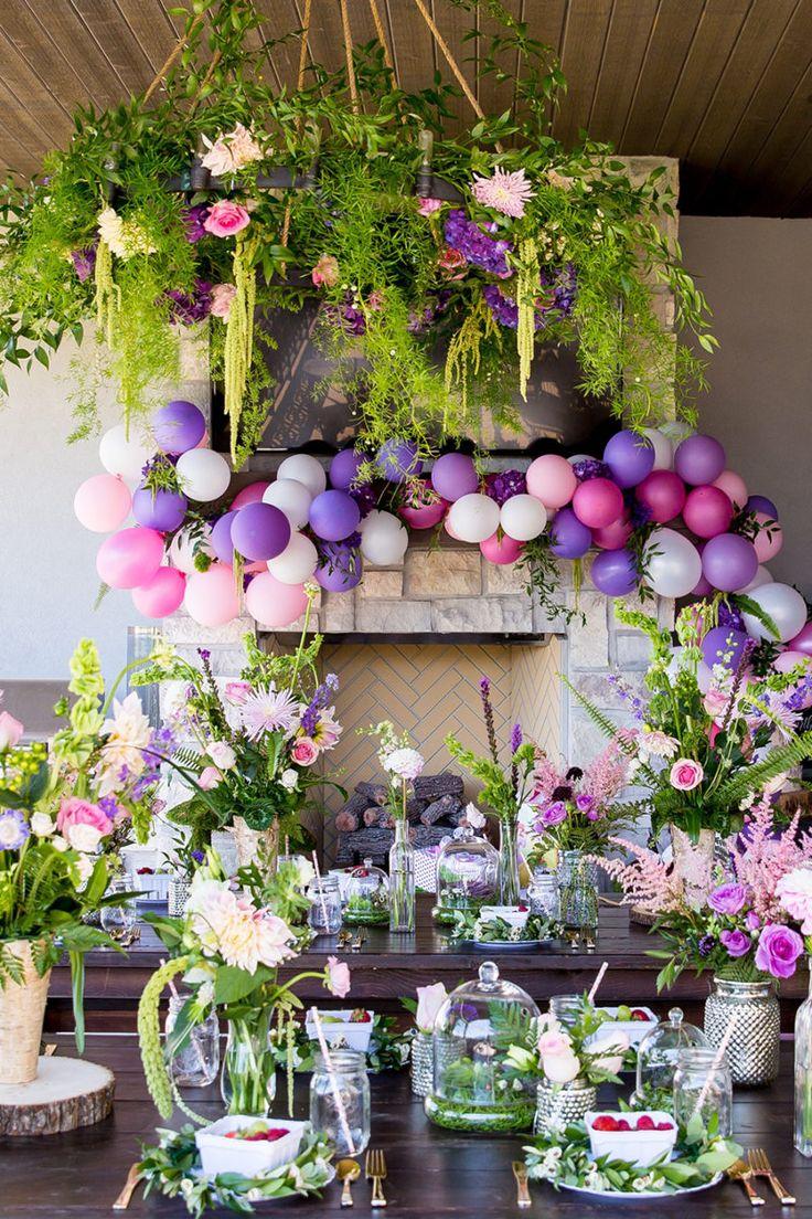 Garden Theme Party Decorations