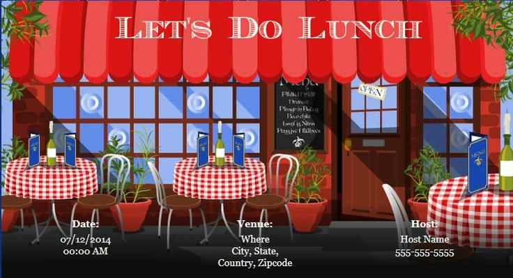 Plan A Lunch Party For Your Family And Friends With