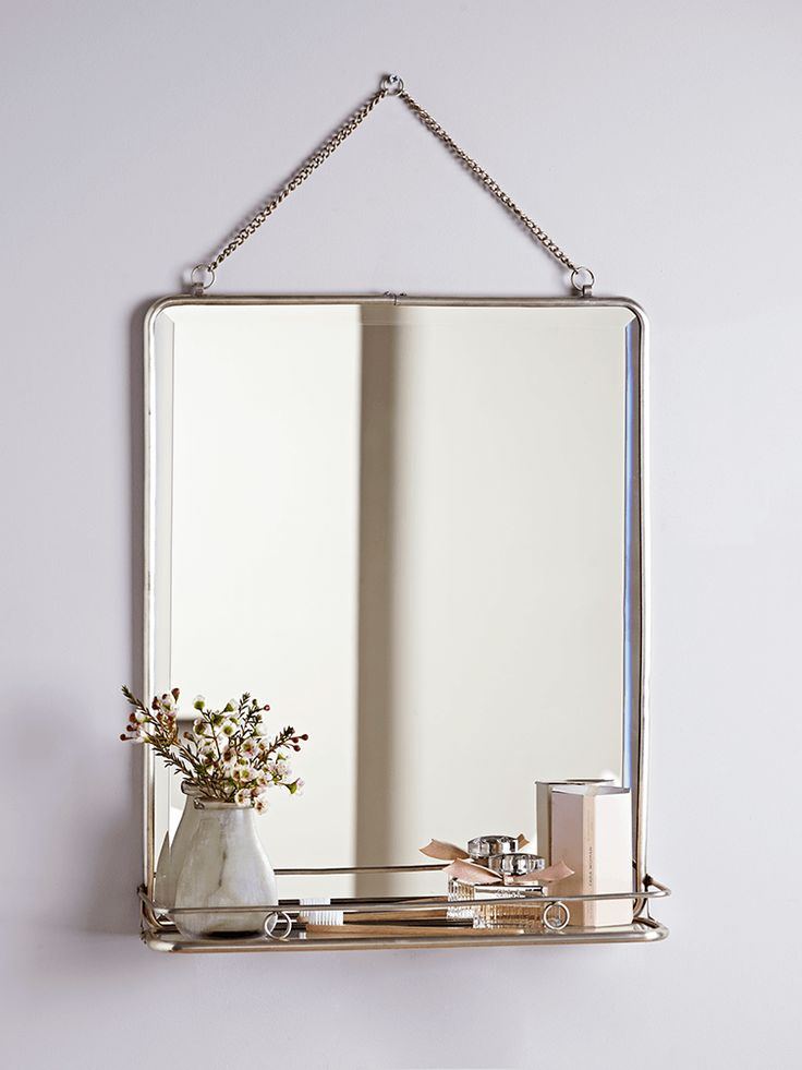 Small Bathroom Mirrors Uk The 25+ Best Mirror With Shelf Ideas On Pinterest