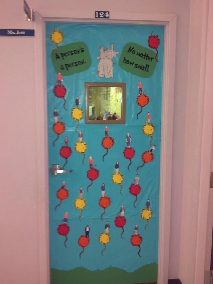 1000+ images about Dr Seuss class door decoration on
