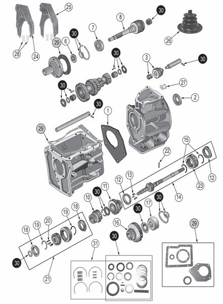 jeep engine parts diagram
