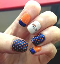 17 Best ideas about Denver Broncos Nails on Pinterest ...
