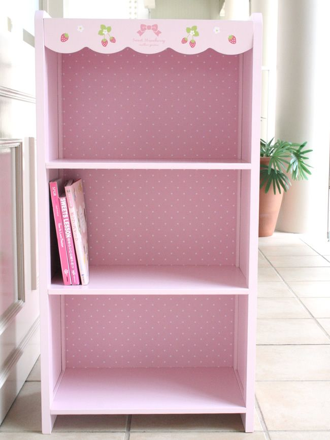Cute Pink Bookshelves House And Home Pinterest Book