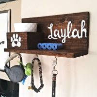 25+ Best Ideas about Dog Leash Holder on Pinterest