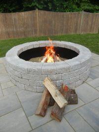 Best 25+ Fire pit ring insert ideas on Pinterest | Steel ...