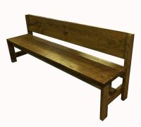 25+ best ideas about Bench with back on Pinterest | Long ...