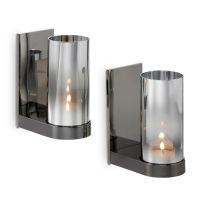 REFLECTIVE TEALIGHT SCONCE PAIR | Partylite 2014!! | Pinterest